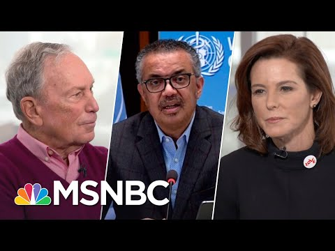 WHO Glad To Be Working With U.S. Administration Again: 'It's Not About The Money'   Stephanie Ruhle