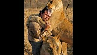 Wild Animals Showing Love to Human #1