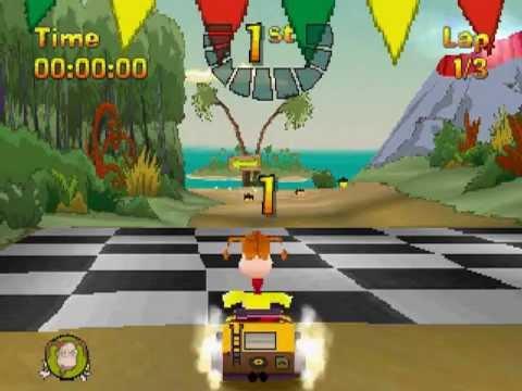 PSX Longplay [179] NickToons Racing