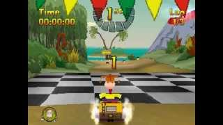 PSX Longplay [179] NickToons Racing