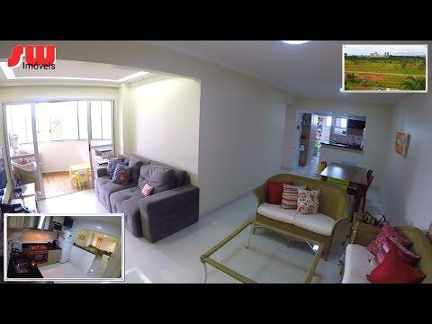 R$ 475 mil 3 qtos 96m Vista parque - Residencial Parque Águas Claras DF