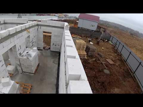 деревянное перекрытие между этажами. Строительство дома 9х8.
