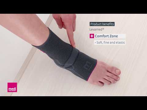 Levamed® – Product Benefits For The Ankle Support Sleeve | Medi USA