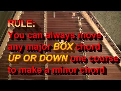 HAMMERED DULCIMER Video #14 - Minor Chords