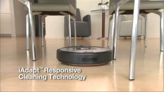 How iRobot Roomba® Vacuum Cleaning Robot Works