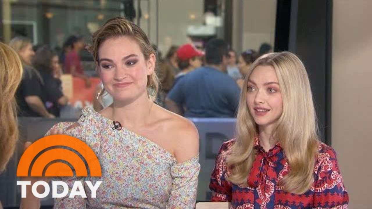 'Mamma Mia' Stars Lily James, Amanda Seyfried Reveal What It's Like To Work With Cher | TODAY