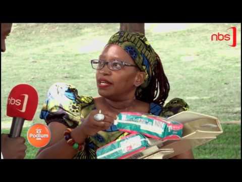 Dr. Stella Nyanzi ku Podium