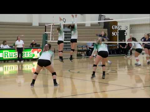 Women's Volleyball 10-17-18  GWC vs Santiago Canyon College Part-1