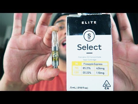 PINEAPPLE EXPRESS SELECT WAX CARTRIDGE REVIEW!