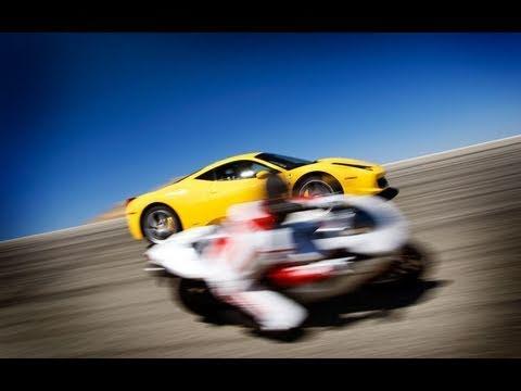 Ferrari 458 Italia Vs Ducati 1198s Forza Italia Youtube