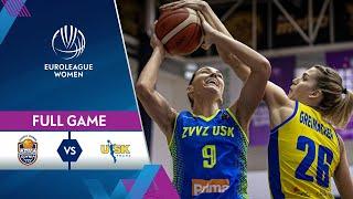 VBW Arka Gdynia v ZVVZ USK Praha - Full Game - EuroLeague Women 2020-21