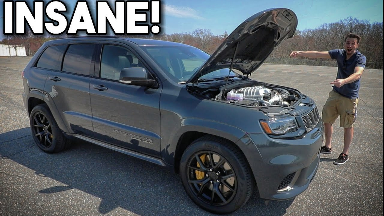 2018 Jeep Grand Cherokee Trackhawk Review From A Z06 Owner