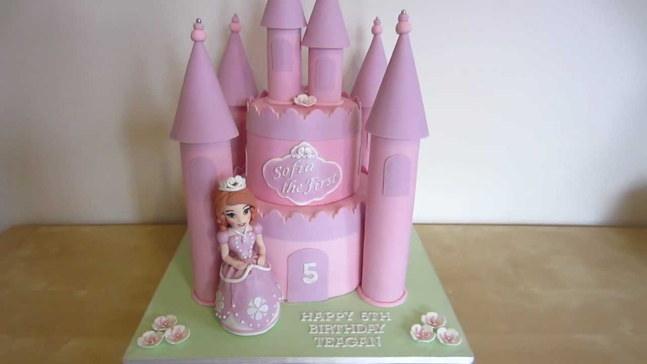 Sofia The First Castle Cake Do You Want A How To For This Cake