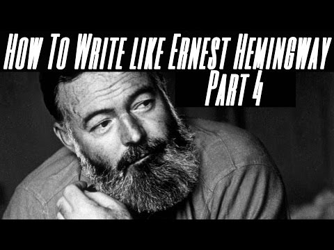 How To Write Like Hemingway | Part 4 - The Iceberg Theory