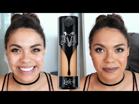 Kat Von D Lock It Foundation Review: Oily Skin Diaries | samantha jane