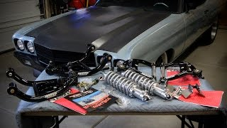 "1970 Chevelle ""Road Assault Suspension"" with  Coil Overs by Speedtech Suspension"