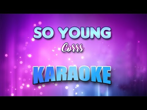 Corrs - So Young (Karaoke version with Lyrics)
