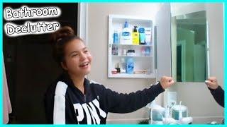 DECLUTTERING MY BATHROOM | Skin Care / Hair care / Teeth etc |. SISTERFOREVERVLOGS #569