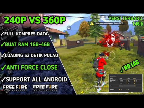 FIX LAG FREE FIRE !!!Config Anti Lag Free Fire -- Tutorial Cara Mengatasi Lag Di HP Ram 1GB - 3GB - 동영상