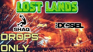 Shaq aka DJ DIESEL @ Lost Lands 2018 | Drops Only