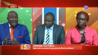 237 LE DÉBAT(Campagne Electorale: Opportunité ou exutoire) DU 22 JANVIER 2020 - ÉQUINOXE TV