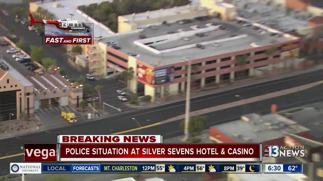 police situation at silver sevens hotel-casino