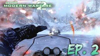 C.O.D: Modern Warfare 2 | Part 2: SNOW MOBILE FUN!