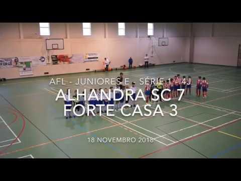 Alhandra SC 7 - 3 Forte da Casa