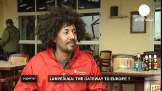 Lampedusa - Italian island at the sharp end of immigration