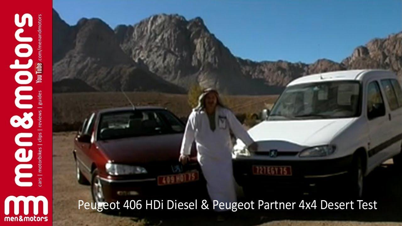 Peugeot 406 hdi diesel peugeot partner 4x4 desert test