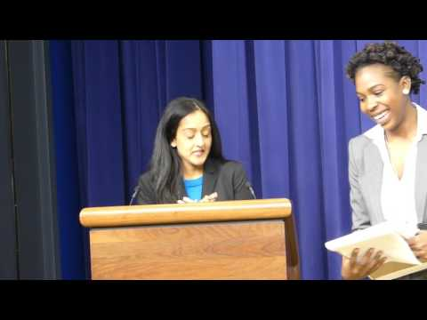 Leteria Bailey Introduces Keynote Speaker Vanita Gupta at White House