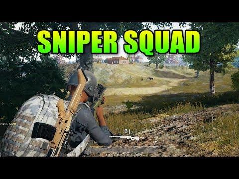 Sniper Squad Wrecks   PlayerUnknown's Battlegrounds