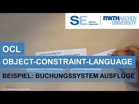 OCL - Object Constraint Language (UML) am Beispiel eines Buchungssystems für Ausflüge