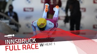 Innsbruck | BMW IBSF World Cup 2020/2021 - Women's Skeleton Heat 1 | IBSF Official