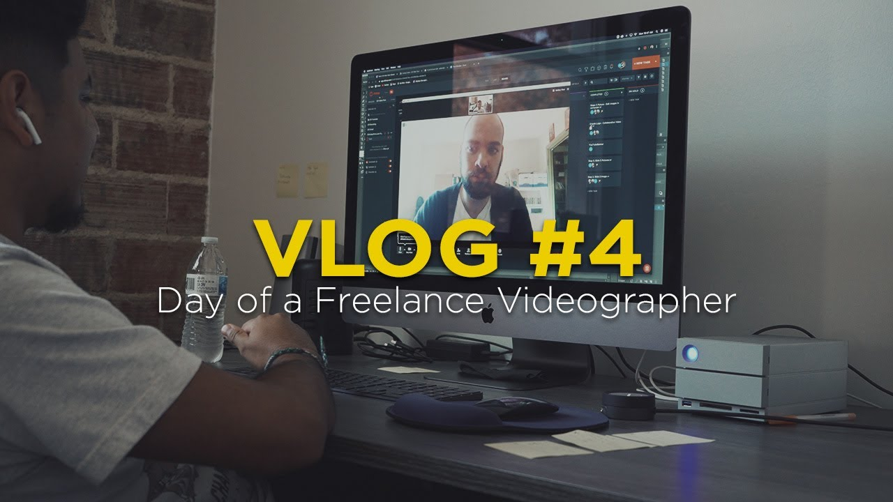 Vlog 4: Day of a Freelance Videographer
