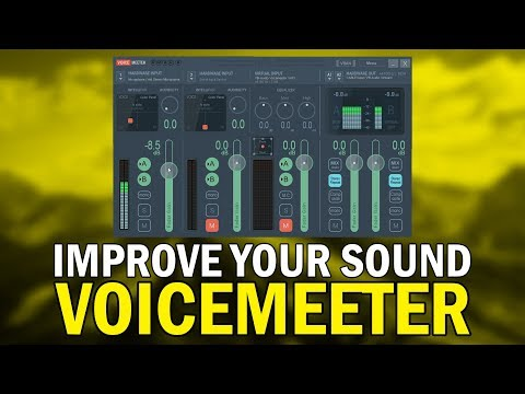 How To Make Your Microphone Sound Better With Voicemeeter (How To Use  Voicemeeter Tutorial):: superlike club