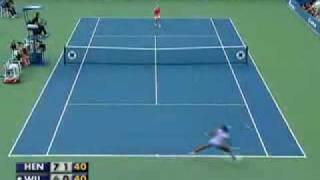 justine henin vs venus williams sf us open 2007 best match ever