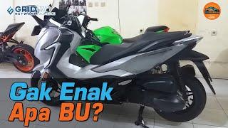 Baru Beberapa Bulan Launching Honda Forza Udah Ada Bekasnya?