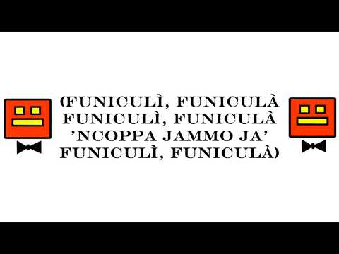 Luciano Pavarotti - Funiculì Funiculà (Letra)