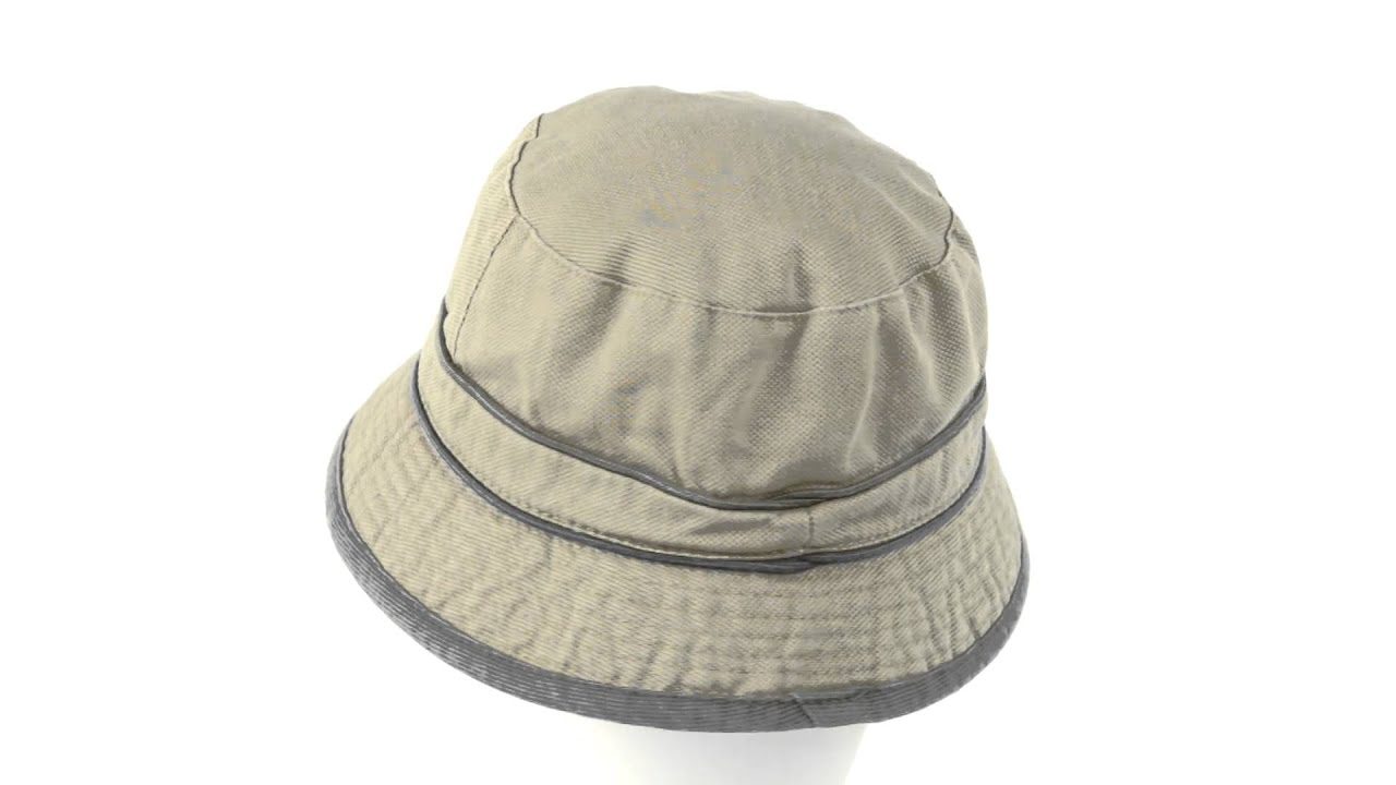Dorfman Pacific Headwear Global Trends Bucket Hat - Washed Canvas ... 2db67150f79