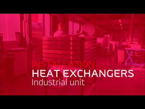 Flue and exhaust gas heat exchangers