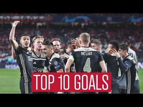 TOP 10 GOALS - Ajax in 2018