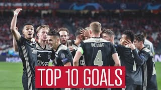 TOP 10 GOALS - Ajax in 2018
