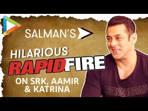 Salman Khan's DHAMAKEDAR Rapid Fire On Shah Rukh Khan, Aamir Khan & Katrina Kaif | NOTEBOOK