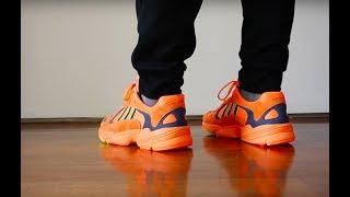 Review Adidas Dad shoe Yung-1 Son Goku Indonesia