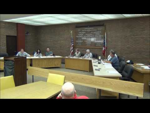 Bucyrus City Council Joint Committee Meetings 3/23/17