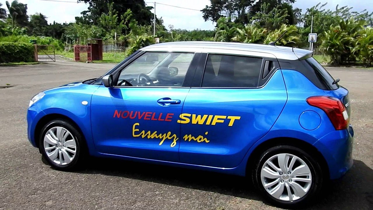 Essai Nouvelle Suzuki Swift Martinique 2018 Grantomobilfr Vidéo Production