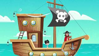 Piraci - Piosenki dla dzieci bajubaju.tv