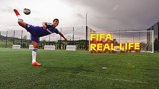Insane FIFA 15 Skill Moves & Tricks in REAL-LIFE (PART 1)