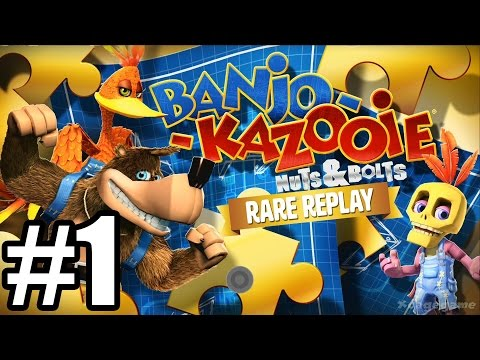 Rare Replay : Banjo-Kazooie Nuts & Bolts - Gameplay Walkthrough Part 1 [ HD ]